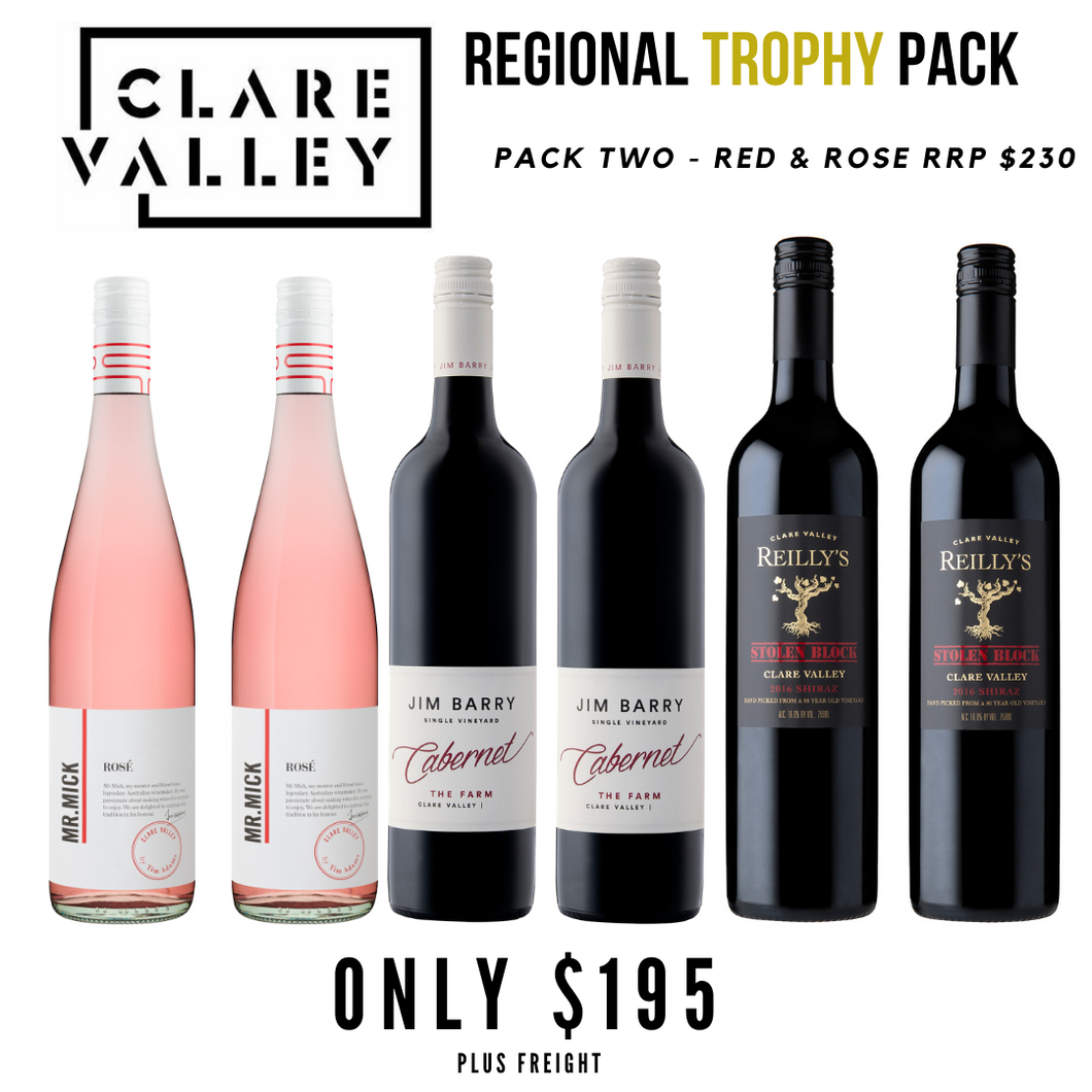 Clare Valley Regional Trophy Selection - Red