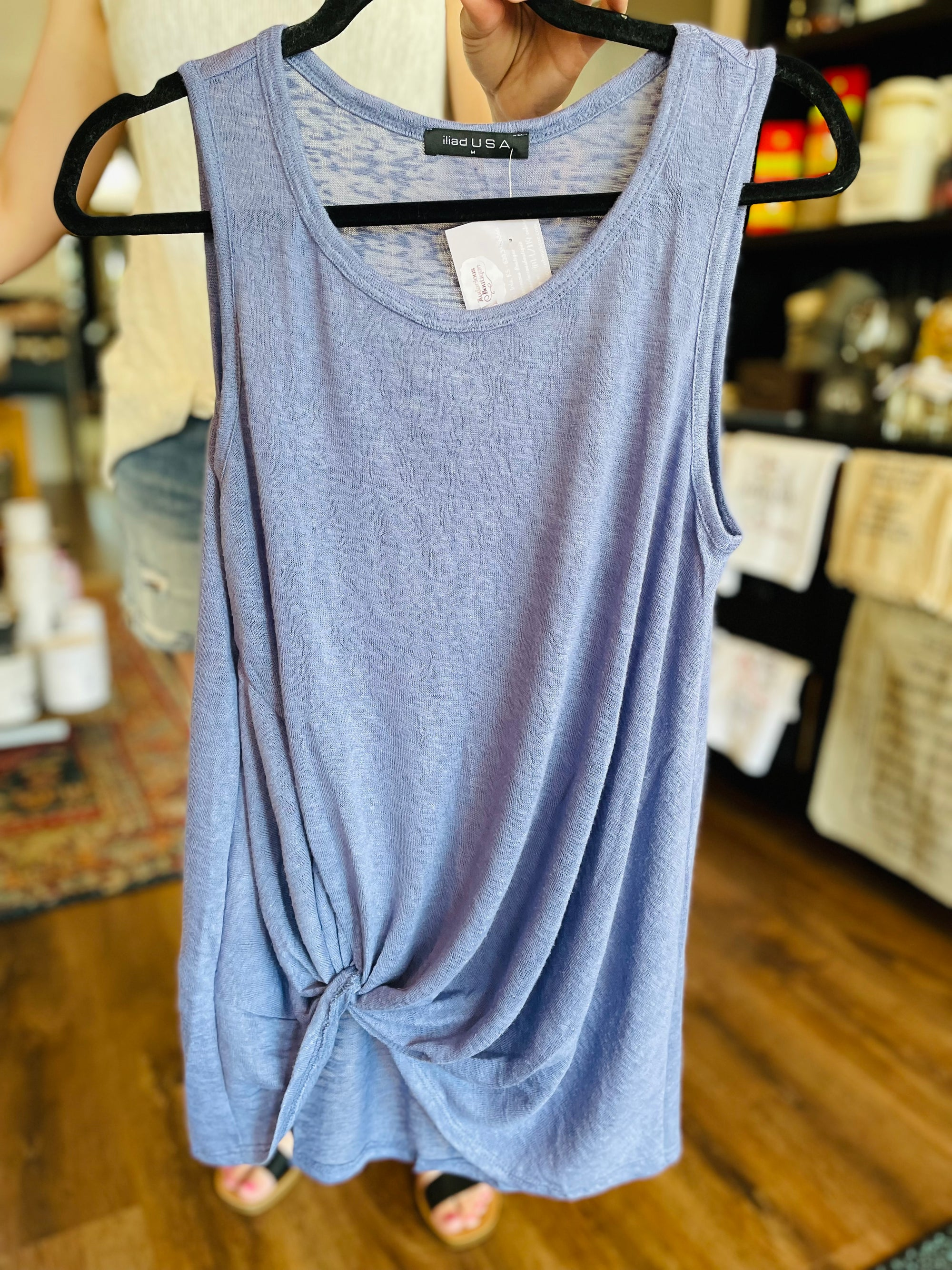 WHITE CANVAS WEDGE SNEAKER