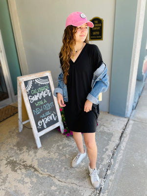 DOUBLE FRONT POCKET CARDIGAN