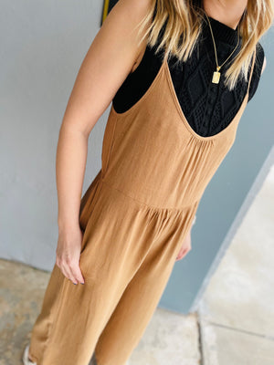 Pastel Striped V-Neck Sleeveless Top