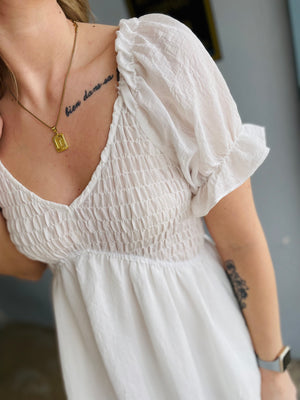 Fleece Yellow Burn Out Shorts