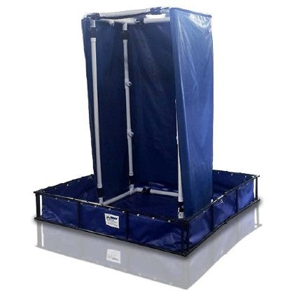 Ozone Decontamination Shower