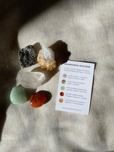 ABUNDANCE + SUCCESS CRYSTAL KIT