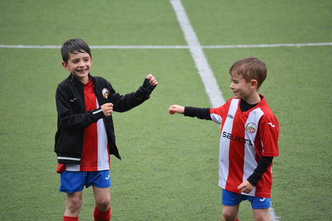 Children playing sport to help improve mental health and anxiety