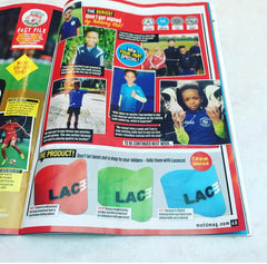 BBC Match of the Day Magazine - Laceeze feature