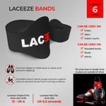 Laceeze Original Bands 3 pairs for £15