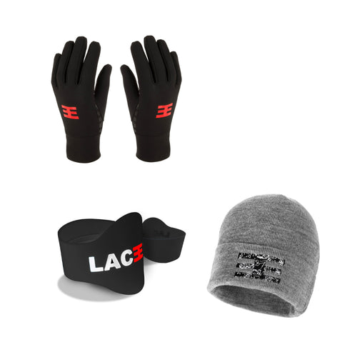 Laceeze Gloves, Hat and Bands Bundle