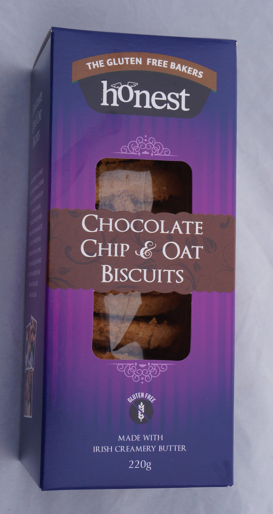 Gluten Free Chocolate Chip & Oat Biscuit Product Image