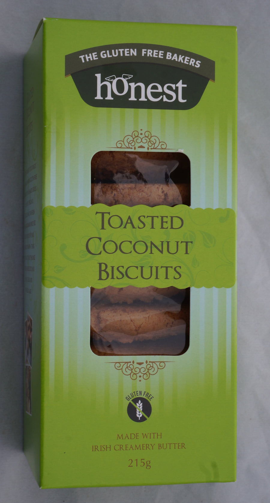 Gluten Free Toasted Coconut Biscuit Product Image