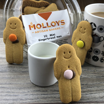 Mini Gingerbread Men - 10 Pack - Molloys Bakery