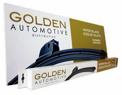 Balai d'essuie glace Golden Automotive avec un clip de type crochet