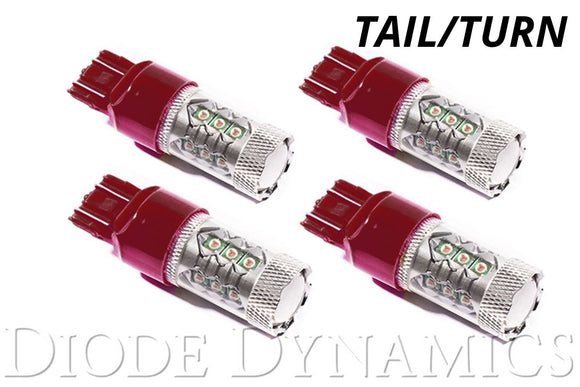 Tail light/Rear turn signal bulbs (four)