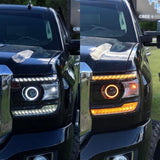 HD LED Switchback Halos (pair)