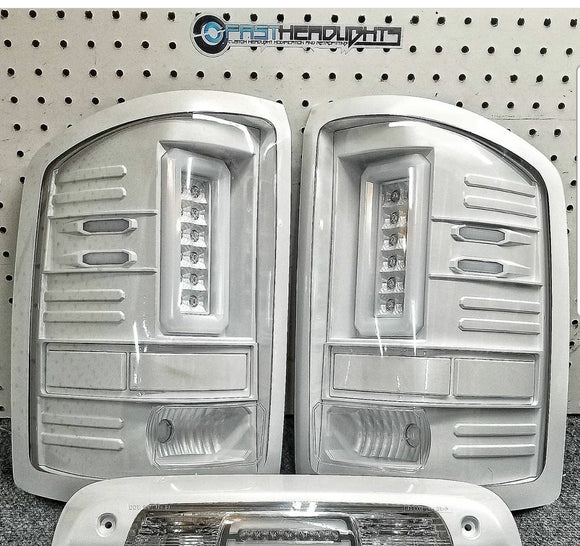 GMC Sierra Recon LED tail lights