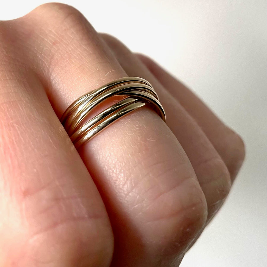 Six Band Rolling Ring
