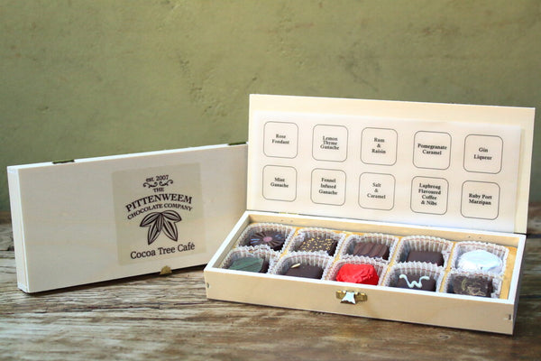 Artisan Chocolates - Box of 10 or Box of 20
