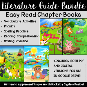 Literature Guide Set: Early Decodable Books