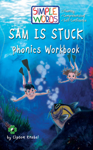 Sam Is Stuck: Phonics Workbooks