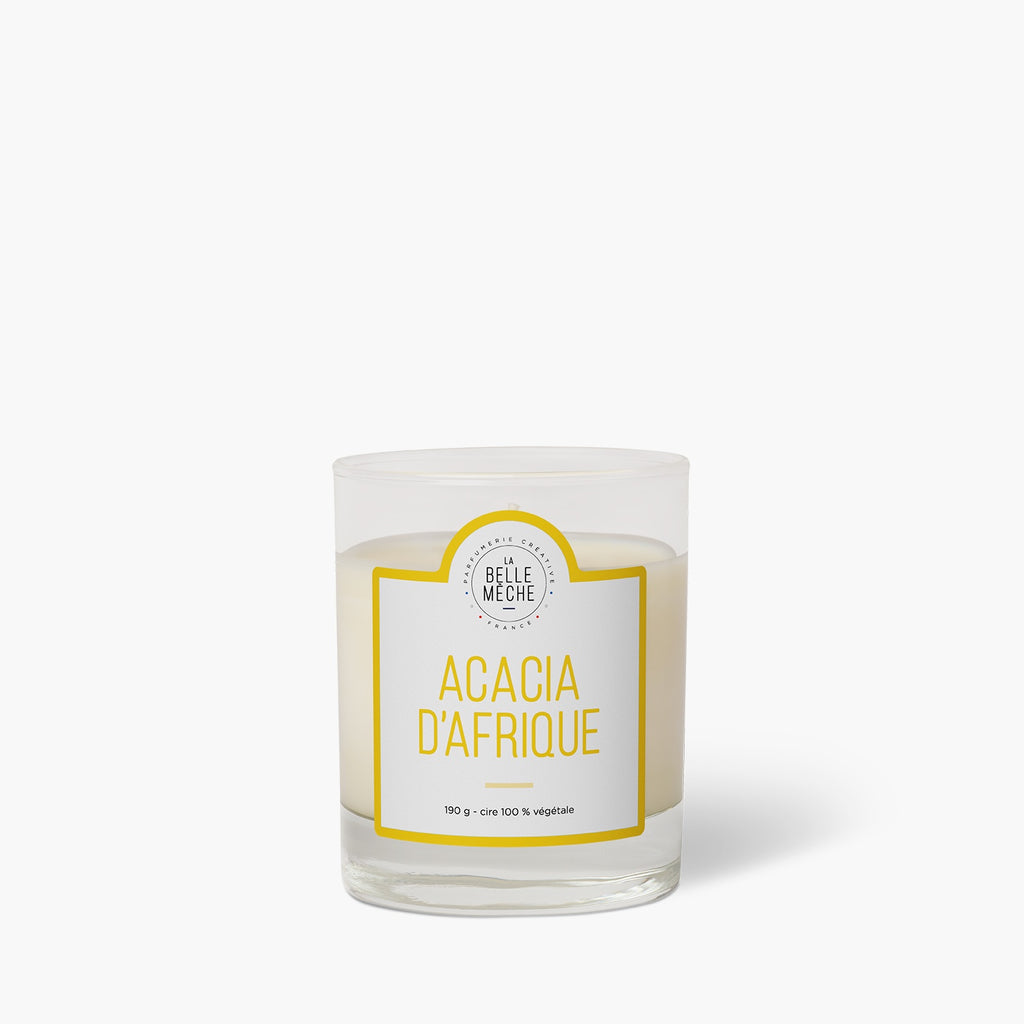 Scented candle Acacia from Africa`