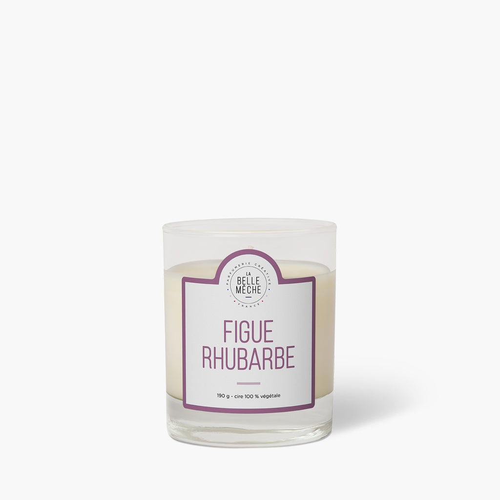 Fig Rhubarb Scented Candle