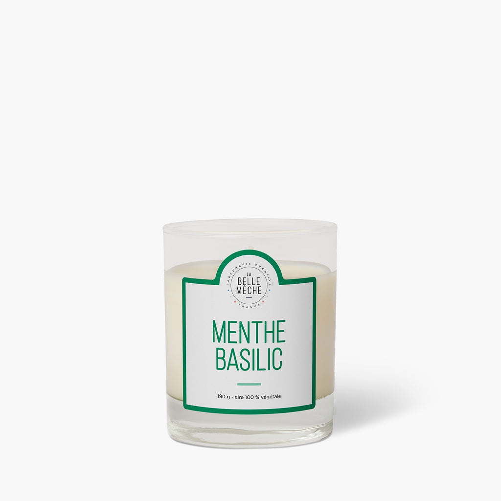 Basil Mint Scented Candle