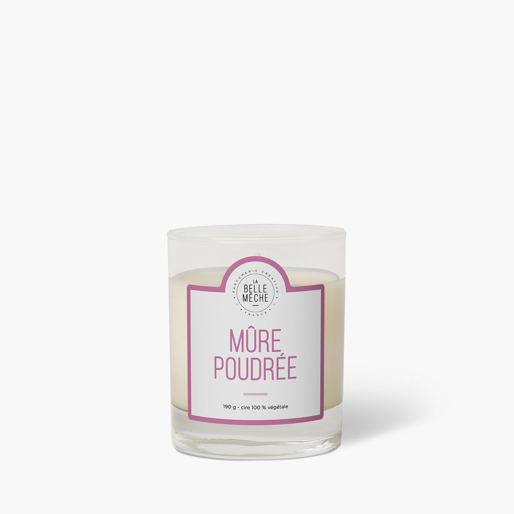Blackberry Powder scented candle