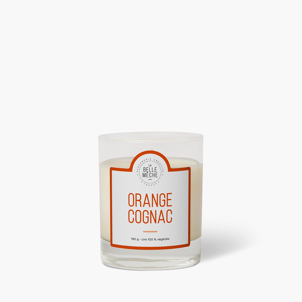 Bougie parfumée Orange Cognac