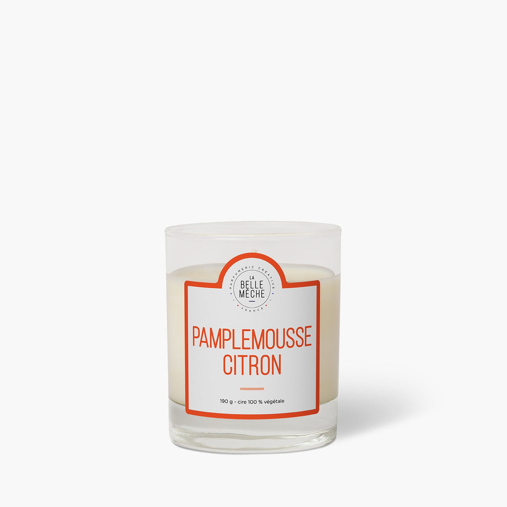 Grapefruit Lemon Scented Candle