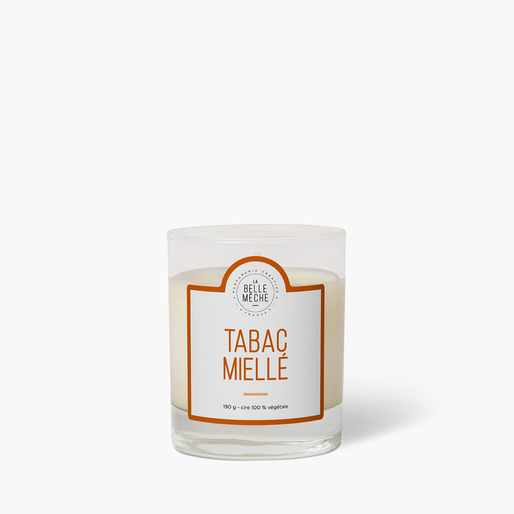 Honey Tobacco Scented Candle