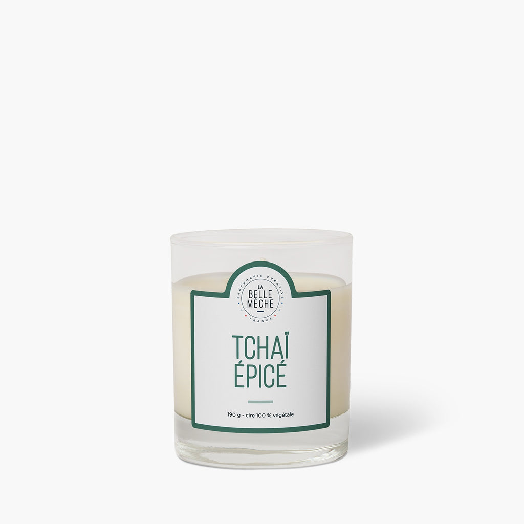 Spicy Tchai scented candle