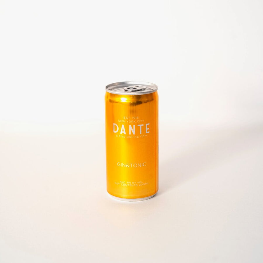 DANTE x F!VE DRINKS CO™ GIN&TONIC 4-PACK