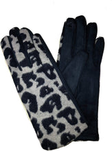 Load image into Gallery viewer, G1921 Leopard print super soft ladies gloves