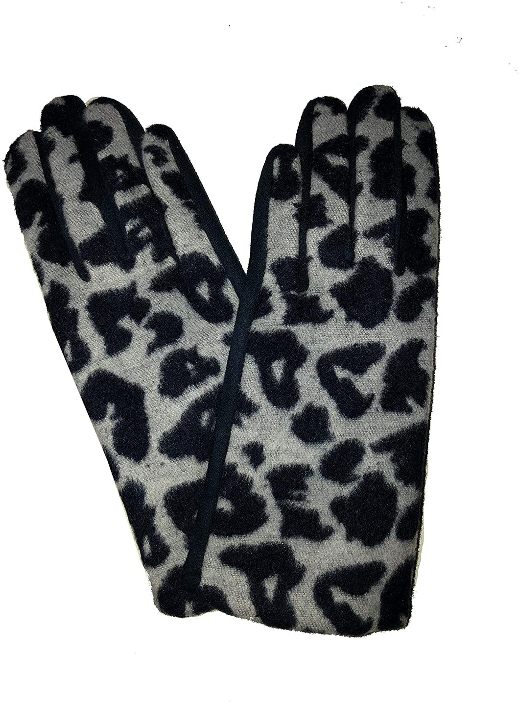 G1921 Leopard print super soft ladies gloves