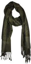 Load image into Gallery viewer, Olive Green Pashmina Style Scarf, Lovely Soft - Lovely Summer wrap, Fantastic Gift