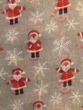 Load image into Gallery viewer, Pamper Yourself Now Grey Father Christmas Ladies Scarf