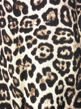 Load image into Gallery viewer, Pamper Yourself Now Chunky beige with brown leopard print snood