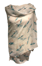 Load image into Gallery viewer, Pamper Yourself Now White Kissing Flamingo Long Soft Scarf