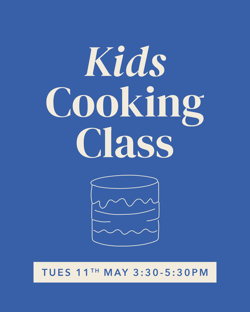 Kids Cooking Class - Dinosaur Cake - 11th May