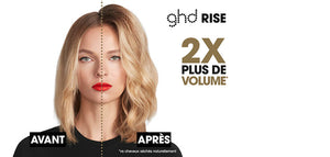 GHD RISE-Brosse volume ghd rise™ + Spray thermoprotecteur OFFERT