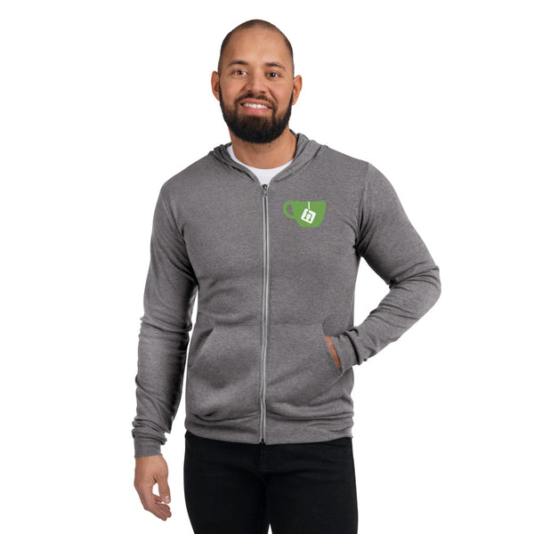 Gitea Lightweight zip hoodie (Two colour options available)