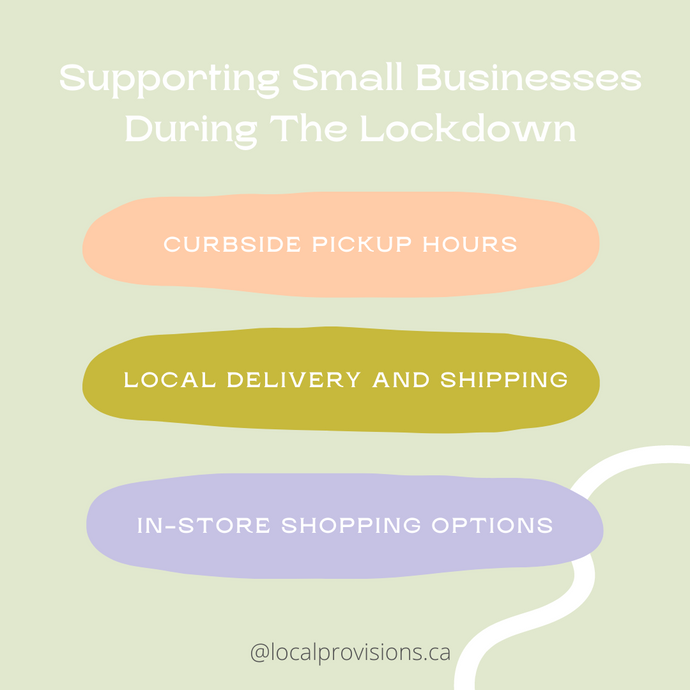 Local Small Business Hours and Information You Need To Know During Lockdown