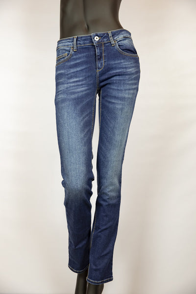 Jeansbroek blauw slim fit