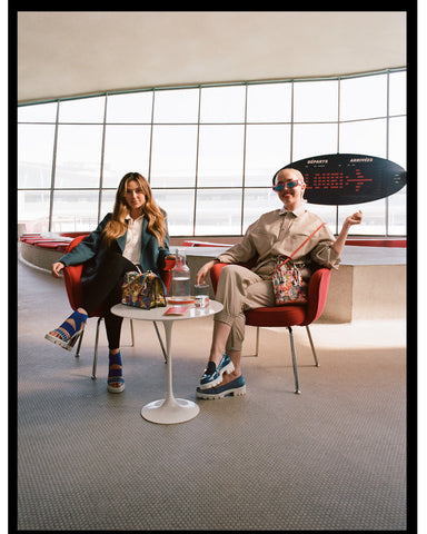 Christian louboutin invites you on loubi airways to discover his fall-winter 2021 women's & men's collections