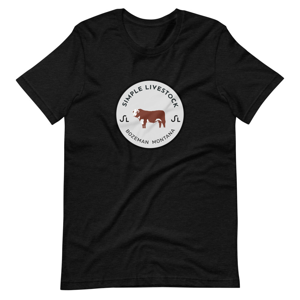 Simple Livestock Short-Sleeve Unisex T-Shirt