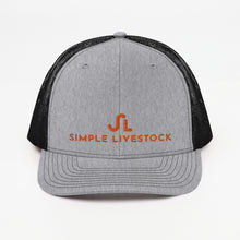 Load image into Gallery viewer, Simple Livestock Trucker Cap