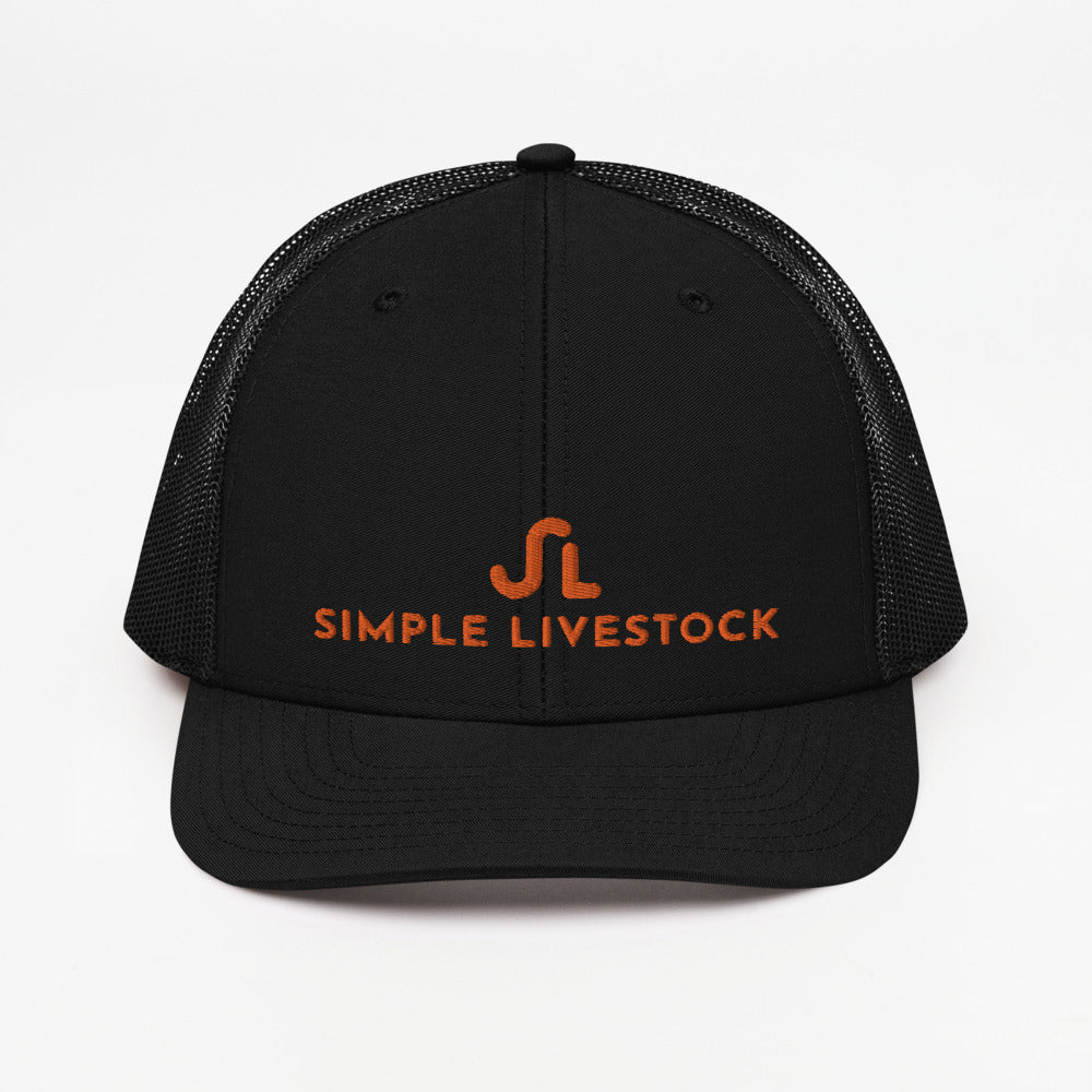 Simple Livestock Trucker Cap