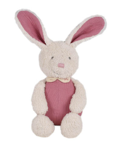 Baby Bunny with Muslin Body Soft Toy