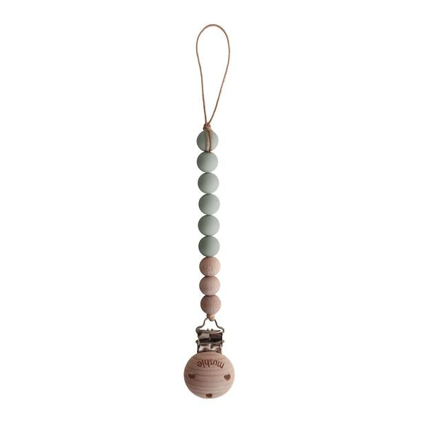Cleo Pacifier Clip - Sage