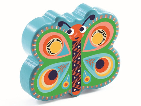 Animambo Wooden Maracas - Butterfly
