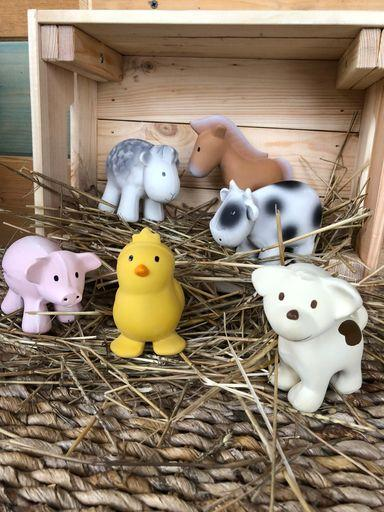 My First Farm Animals Bath Toy & Rattle - Chick